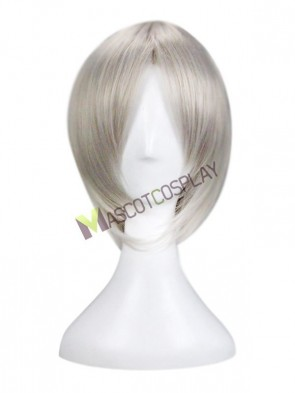 Deep Grey The Labyrinth of Magic Ja'far Cosplay Wig