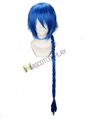 Royal Blue The Labyrinth of Magic Aladdin Cosplay Wig