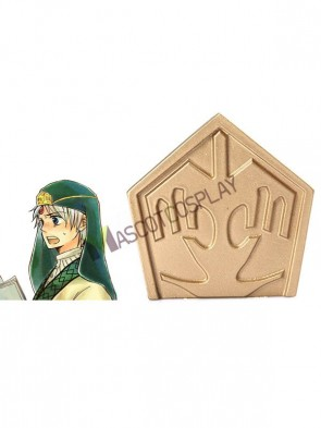 Special The Labyrinth of Magic Ja'far Resin Anime Jewelry