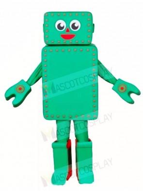 Green Robot Mascot Costumes