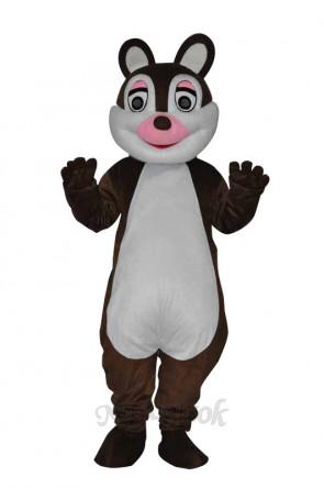 Cute little Squirrel Adult Mascot Costume