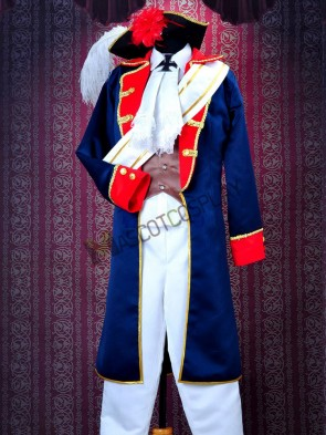 Axis Powers Hetalia Prussia Gilbert Beilschmidt Stylish Cosplay Costume