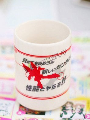 Gundam Anime Ceramic White Cup