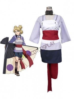 Fashion Naruto Cosplay Costume Temari