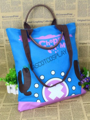 Blue Anime Bag of One Piece