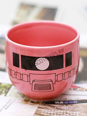 Gundam Anime Ceramic Soup Cup Red