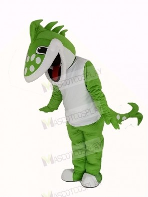 Jackfish Northern Pike Sauger with White Vest Mascot Costume