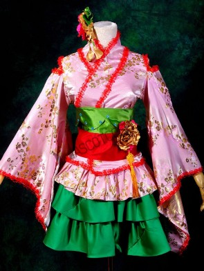 Macross Frontier Ranka Lee Cosplay Costumes
