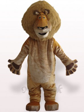 Alex Lion Plush Adult Mascot Costume