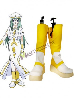 Aria Alice Imitated Leather Foam Cosplay Shoes