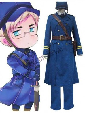 Axis Powers Sweden Berwald Oxenstierna Cosplay Costume