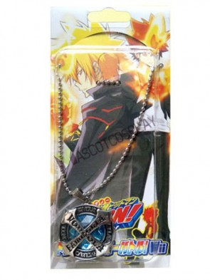 Katekyo Hitman Reborn Blue Alloy Anime Necklace