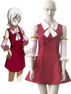 Fairy Tail Kid Lisanna Cosplay Costume
