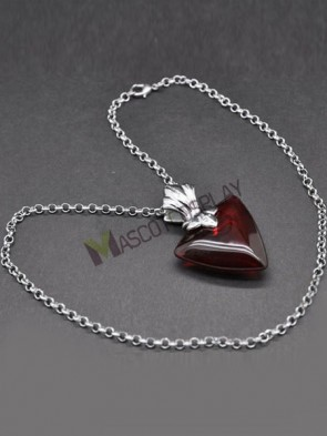FATE stay night Rin Tohsaka Red Alloy Anime Pendant Necklace