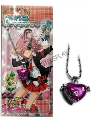 Shugo Chara Purple Alloy Cosplay Necklace Pendant