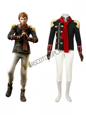 Final Fantasy Type-0 Suzaku Peristylium Class Zero NO.8 Eight Cosplay Costume