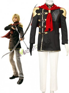 Final Fantasy Type-0 Suzaku Peristylium Class Zero NO.3 Trey Cosplay Costume