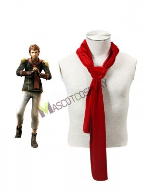 Final Fantasy Type-0 Suzaku Peristylium Class Zero NO.8 Eight Scarf