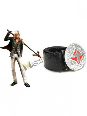 Final Fantasy Type-0 Suzaku Peristylium Class Zero NO.9 Nine Faux Leather Belt