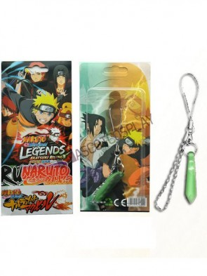 Naruto Green Alloy Anime Cell Phone Charm