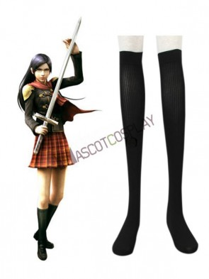 Final Fantasy Type-0 Suzaku Peristylium Class Zero Cotton Stockings