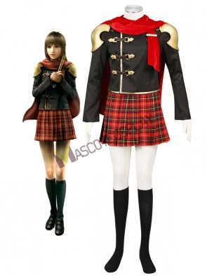 Final Fantasy Type-0 Suzaku Peristylium Class Zero NO.2 Deuce Cosplay Costume