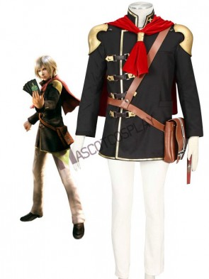 Final Fantasy Type-0 Suzaku Peristylium Class Zero NO.1 Ace Cosplay Costume