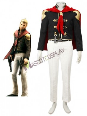 Final Fantasy Type-0 Suzaku Peristylium Class Zero NO.13 King Cosplay Costume