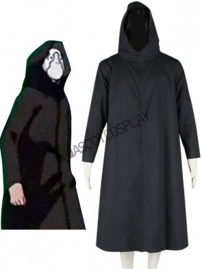 Black Naruto Aku Cosplay Costume
