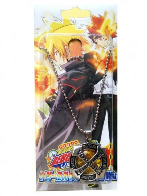 Katekyo Hitman Reborn Yellow Alloy Anime Necklace