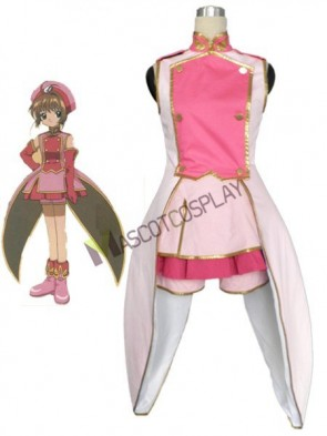 Beautiful Card Capture Sakura Tomoe Shougakkou Sakura Kinomoto Girls Cosplay Costume