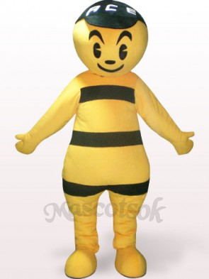Bee Plush Adult Mascot Costume