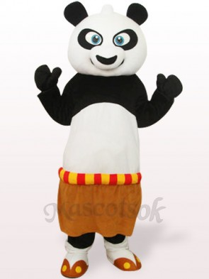 Black And White Kung Fu Panda Adult Mascot Costume