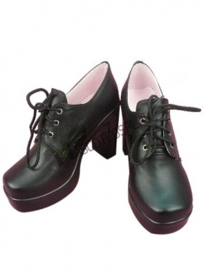 Chic Black Butler Ciel Imitated Leather Rubber Cosplay Shoes