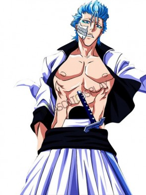 Bleach Grimmjow 65% Cotton 35% Polyester Cosplay Costume