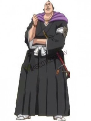 Bleach Omaeda Kichio 65% Cotton 35% Polyester Cosplay Costume
