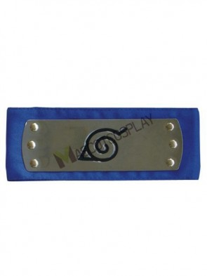 Blue Naruto Ninja Leaf Village Head Band