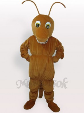 Brown Ant Short Plush Adult Mascot Costume