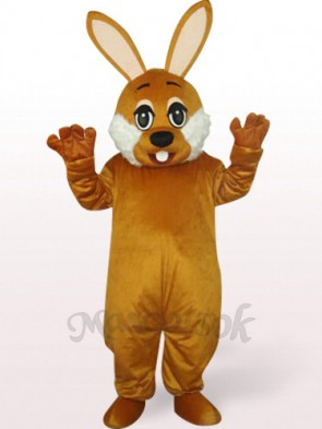 Easter Brown Bunny Plush Mascot Costume