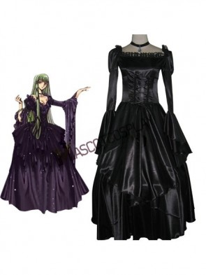 Code Geass C.C. Elegant Green Cosplay Robe
