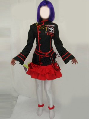 DGRAYMAN Black And Red Girls Uniform Cosplay Costume