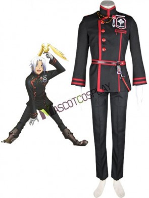 D.Gray-man Allen Walker Cosplay Costume