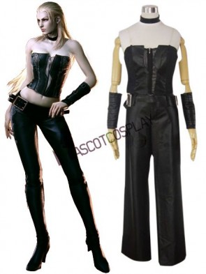 Devil May Cry 4 Trish Cosplay Costume