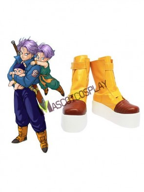 Dragon Ball Imitated Leather Cosplay Shoes