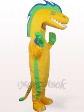 Eel In Yellow Clothes Plush Mascot Costume