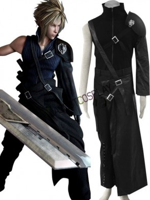 Final Fantasy VII Cloud Cotton Cosplay Costume
