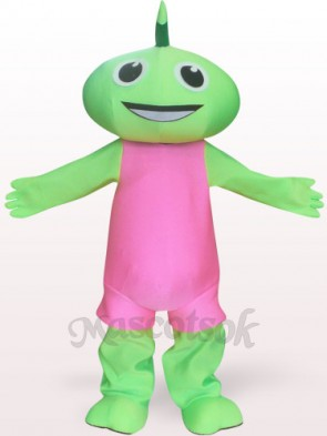 Green Fairy Plush Adult Mascot Costume