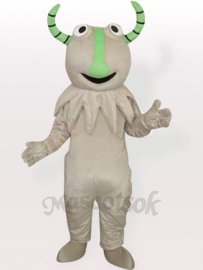 Grey Monster Adult Mascot Costume