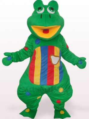 Grog With Colorful Belly Plush Adult Mascot Costume