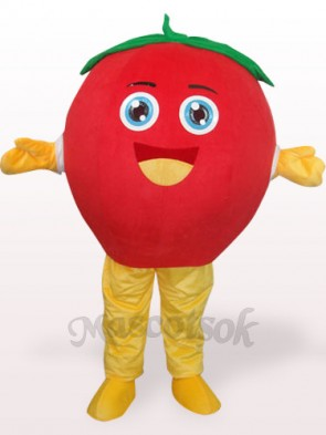 Happy Tomato Plush Adult Mascot Costume